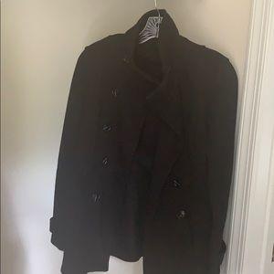 Black Pea Coat!